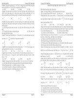 BỘ đề ôn tập học kì i môn vật lí 12