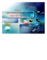 Bài giảng quá trình thiết bị truyền khối