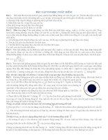 BÀI tập cơ học CHẤT điểm môn vật lý 10