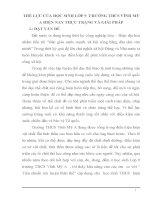 skkn THỂ LỰC CỦA HỌC SINH LỚP 9  TRƯỜNG THCS VĨNH MỸ A HIỆN NAY THỰC TRẠNG VÀ GIẢI PHÁP