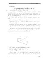 Tính toán và thiết kệ bộ ổn áp xung nguồn DC
