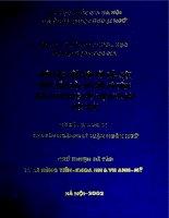 Phân tích diễn ngôn văn bản luật pháp tiếng Việt so sánh với tiếng Anh và ứng dụng trong dịch văn bản luật pháp