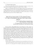 Một số tác dụng dược lý của sâm Bố Chính và thập tử Harmand thu hái ở Lộc Ninh (Bình Phước