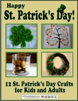 Happy st patricks day 12 st patricks day crafts for kids and adults