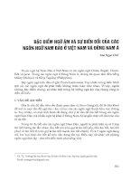 Đặc điểm ngữ âm và sự biến đổi của các ngôn ngữ nam đảo ở Việt Nam và Đông Nam Á