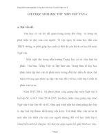 skkn Sáng kiến kinh nghiệm Giúp học sinh học tốt môn Ngữ văn 6