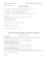 Tính đơn điệu hàm số