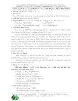 BÁO CÁO ĐTM DỰ ÁN ĐẦU TƯ XÂY DỰNG CÔNG TRÌNH NÂNG CÔNG SUẤT TRẠM BIẾN ÁP 220KV HẢI DƯƠNG (PHẦN HIỆN TRẠNG VÀ NÂNG CÔNG SUẤT)