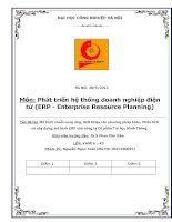 Mô hình chuỗi cung ứng, Giới thiệu các phương pháp khác. Phân tích và xây dựng mô hình ERP vào công ty Cổ phần Tin học Minh Thông