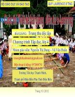 slide thuyết trình Tiếng Việt lớp 4 - Tập đọc Trung thu độc lập