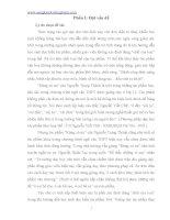 """Những phương pháp và biện pháp thích hợp để dạy học truyện ngắn """"Rừng xà nu"""" của Nguyễn Trung Thành ở lớp 12 từ góc độ loại thể"""
