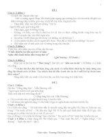 Bộ đề ôn tập học sinh giỏi ngữ văn 8