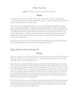 Những bài văn tả cây cối lớp 4