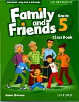 Family and friends grade 5