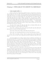 ĐỒ ÁN CÔNG NGHỆ THỰC PHẨM TÌM HIỂU VỀ CHITOSAN