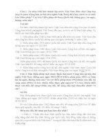 Bài dự thi tìm hiểu hiến pháp nước Cộng hòa xã hội chủ nghĩa VIệt Nam