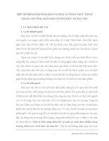 MỘT SỐ BIỆN PHÁP ĐẢM BẢO VỆ SINH AN TOÀN THỰC PHẨM TRONG TRƯỜNG MẦM NON CÓ TỔ CHỨC ĂN BÁN TRÚ