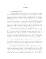 Luận án tiến sĩ địa lý NGHIÊN cứu ĐÁNH GIÁ CẢNH QUAN