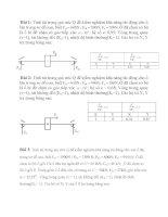 bài tập chi tiết máy phần ổ lăn