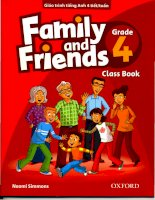 Family and friends grade 4