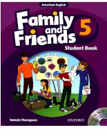 Family and friends 5A student book
