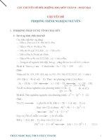Một số phương pháp bồi dưỡng học sinh giỏi toán 8 phần đại số phương trình nghiệm nguyên