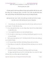 SKKN Một số giải pháp rèn luyện kỹ năng nghe Tiếng Anh cho học sinh tiểu học