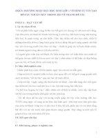 SKKN PHƯƠNG PHÁP DẠY HỌC SINH LỚP 1 VẼ HÌNH TỰ TIN TẠO BỐ CỤC THUẬN MẮT TRONG BÀI VẼ TRANH ĐỀ TÀI