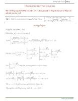 các bài toán hệ phương trình
