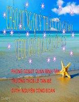Bài 25 Địa 6 Biển và đại dương