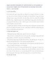 SKKN PHƯƠNG PHÁP RÈN KỸ NĂNGVẼ HÌNH TỰ TIN TẠO BỐ CỤC THUẬN MẮT TRONG BÀI VẼ TRANH ĐỀ TÀI CHO HỌC SINH LỚP 1
