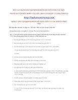 BÀI tập ĐỊNH KHOẢN kế TOÁN TIỀN và các KHOẢN PHẢI THU