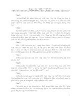 Bài dự thi tìm hiểu hiến pháp 2013