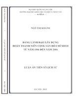 Đảng lãnh đạo xây dựng Đoàn Thanh niên Cộng sản Hồ Chí Minh từ năm 1986 đến năm 2006.PDF