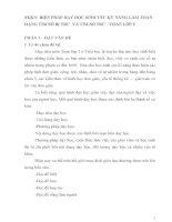 SKKN BIỆN PHÁP DẠY HỌC SINH YẾU KỸ NĂNG LÀM TOÁN DẠNG TÌM SỐ BỊ TRỪ  VÀ TÌM SỐ TRỪ - TOÁN LỚP 2