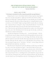 """SKKN MỘT SỐ BIỆN PHÁP CHỈ ĐẠO PHONG TRÀO """"NÉT CHỮ NẾT NGƯỜI"""" Ở TỔ CHUYÊN MÔN 2-3"""