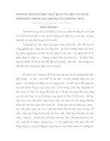 SKKN PHƯƠNG PHÁP DẠY HỌC TRỰC QUAN VÀ VIỆC VẬN DỤNG KÊNH HÌNH TRONG DẠY HỌC ĐỊA LÝ Ở THCS