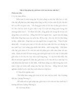 SKKN Một số biện pháp dạy giải toán có lời văn cho học sinh lớp 5