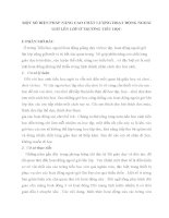 MỘT SỐ BIỆN PHÁP NÂNG CAO CHẤT LƯỢNG HOẠT ĐỘNG NGOÀI GIỜ LÊN LỚP Ở TRƯỜNG TIỂU HỌC