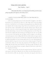 SKKN Biện pháp khai thác và sử dụng hợp lý hệ thống câu hỏi trong giảng dạy phân môn tập đọc sách Tiếng Việt 5