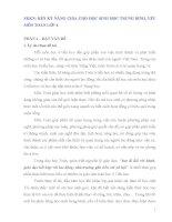 SKKN RÈN KỸ NĂNG CHIA CHO HỌC SINH HỌC TRUNG BÌNH, YẾU MÔN TOÁN LỚP 4