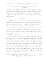 """SKKN Một hướng đọc – hiểu bài thơ """"Bạn đến chơi nhà"""" của Nguyễn Khuyến (Ngữ văn 7 - THCS) trên cơ sở lý luận tiếp nhận văn học"""