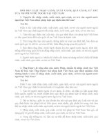 HỎI ĐÁP LUẬT NHẬP CẢNH, XUẤT CẢNH, QUÁ CẢNH, CƯ TRÚ CỦA NGƯỜI NƯỚC NGOÀI TẠI VIỆT NAM