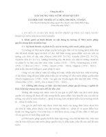 CHUYÊN ĐỀ: XÂY DỰNG NHÀ NƯỚC PHÁP QUYỀN XÃ HỘI CHỦ NGHĨA CỦA DÂN, DO DÂN, VÌ DÂN