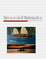 Bài giảng tổng quan về marketing dịch vụ