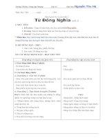 Giáo án: Rèn Luyện từ và câu tuần 1 Từ Đồng Nghĩa  (tiết 1)