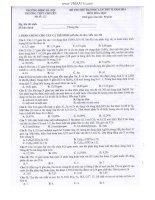 Tổng hợp đề thi thử môn Hóa Học 2015