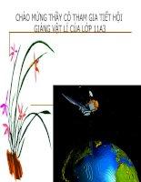 Bài giảng bài 13: Định luật Ôm cho toàn mạch  Vật lý lớp 12