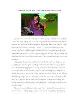 Phân tích truyện ngắn Trong lòng mẹ của Nguyên Hồng