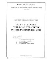 SCTV business building strategy in the period 2011-2016